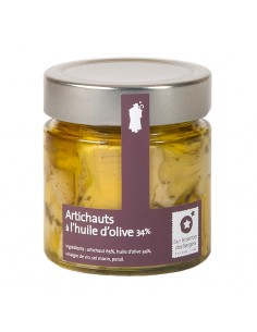 Artichokes in olive oil