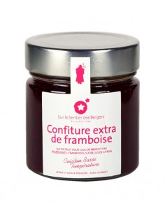 Extra raspberry jam - 250g