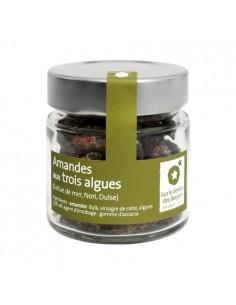 Almendras con algas