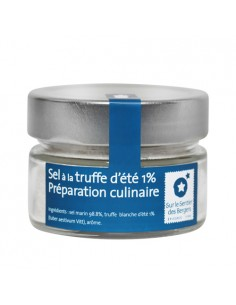Sea salt with summer truffle