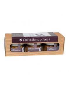 Coffret Collection 3 pots -...