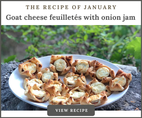 THE RECIPE OF THE MONTH
