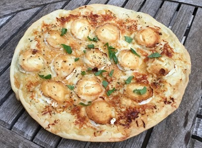 PIZZA CHEVRE MIEL TRUFFE